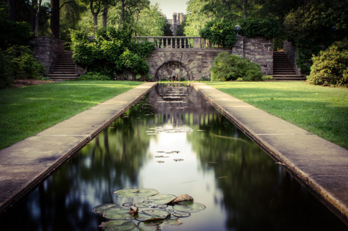 skylands manor reflecting pond
