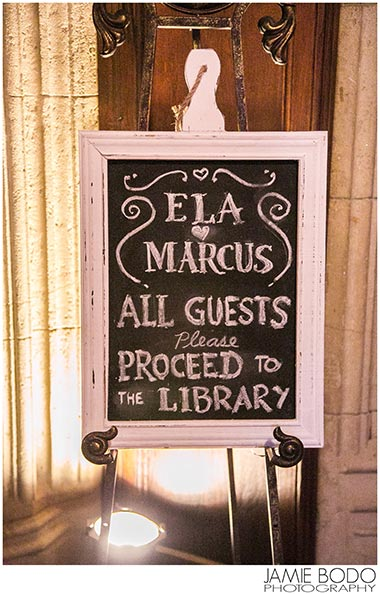 ela marcus wedding reception