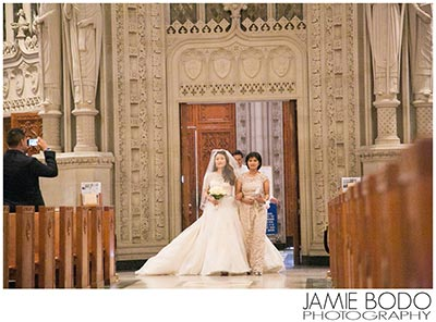 newark cathedral basilica wedding