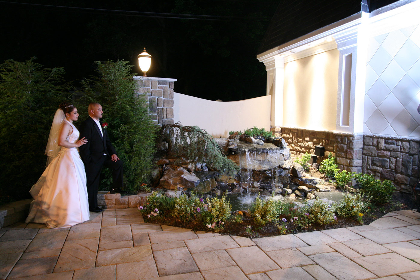 Elegant Outdoor Wedding Patio