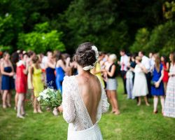 020-bride-and-guests-outdoor-wedding-ceremony