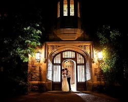 20-skylands-castle-entrance-night-bride-groom