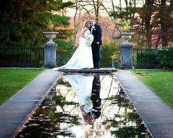 bride-groom-pond