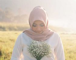 muslim-bride-rustic-wedding-in-field