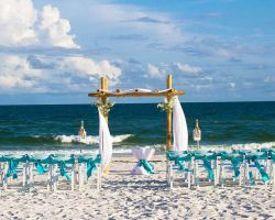 teal-ribbon-beach-ceremony