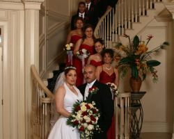 wedding-bridal-party-grand-entrance-staircase